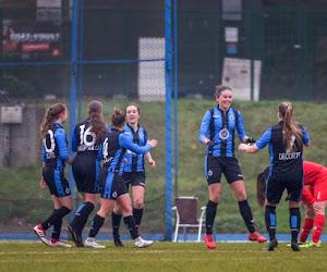 Club Brugge vrouwen op stage én met oefenmatch tegen Zulte Waregem