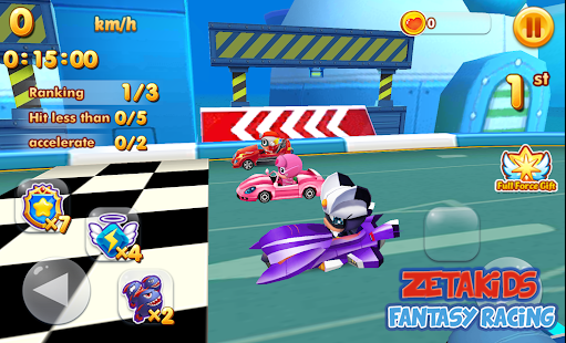 ZetaKids - Fantasy Racing Adventure | Robot Fun 3D for PC-Windows 7,8,10 and Mac apk screenshot 6