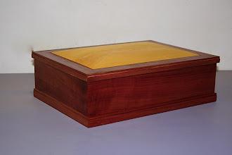 Photo: Box-Michael Dooley Tas Myrtle, Huon Pine