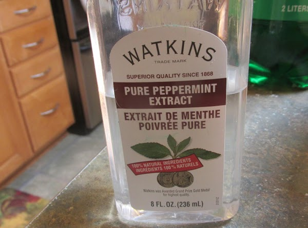 Add Peppermint Extract.