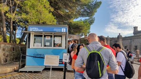 Queueing at Castle Montjuic - Itinerary Guide to 3 Days in Barcelona
