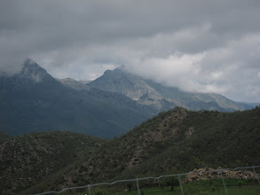Photo: There are views of the high Sierra de Grazalema to the north ...
