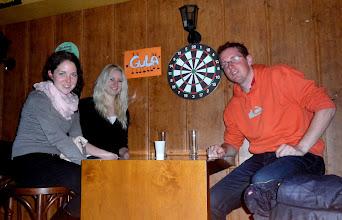 Photo: Rozluckova party. Segra a Kris.
