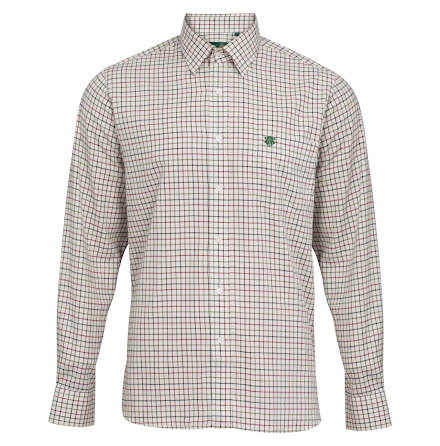 Alan Paine Ilkey Country Shirt Check 2 Red
