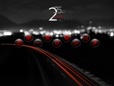 Brenn Red - Icon Pack screenshot 6