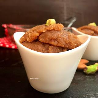 Whole Wheat Flour Halwa Recipe Recipe