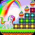 Unicorn Dash Attack 2: Neon Lights Unicorn Games icon