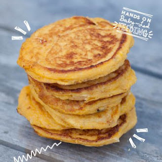 Butternut Squash and Goats Cheese Pancakes Recipe