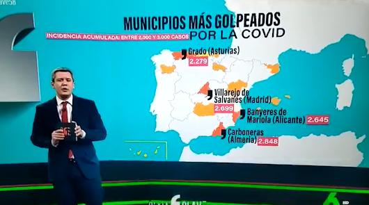 Carboneras ya es uno de los municipios de España más golpeados por la covid