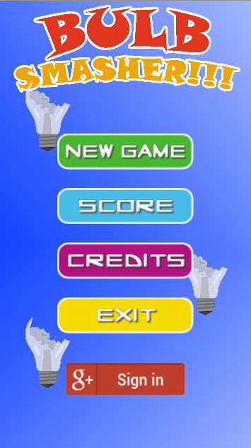 Bulb smasher- screenshot