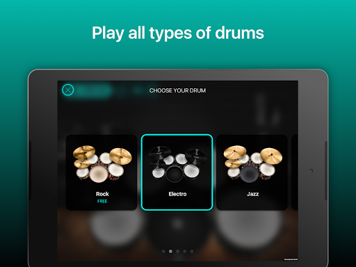 Drums: real drum set music games to play and learn 2.18.01 screenshots 9