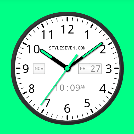Analog Clock Widget Plus-7 PRO app for Android
