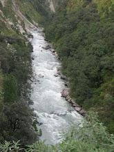 Photo: gushing Bhagirathi b/w Uttarkashi-Gangotri