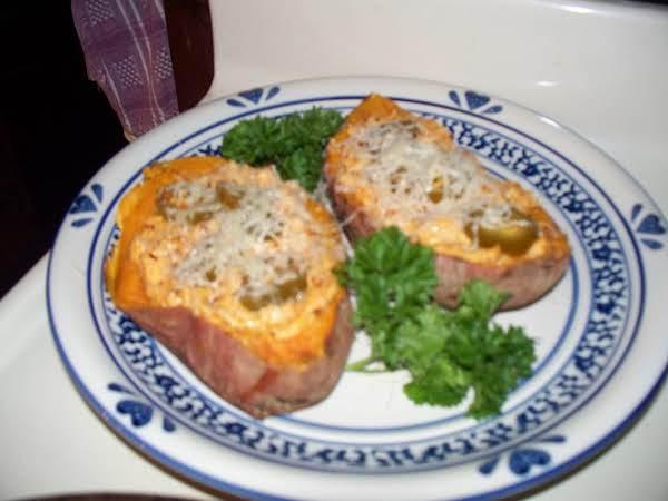 Southwest Twice Baked Sweet Potato Recipe