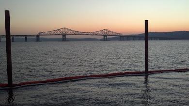 Photo: Sunset over the Tappan Zee Bridge, Sleepy Hollow, NY, 11.29.2012