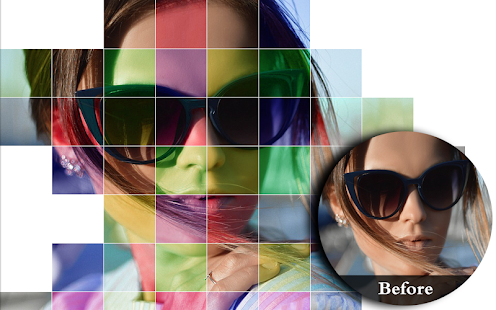 photo editor : color grid & color effect - náhled