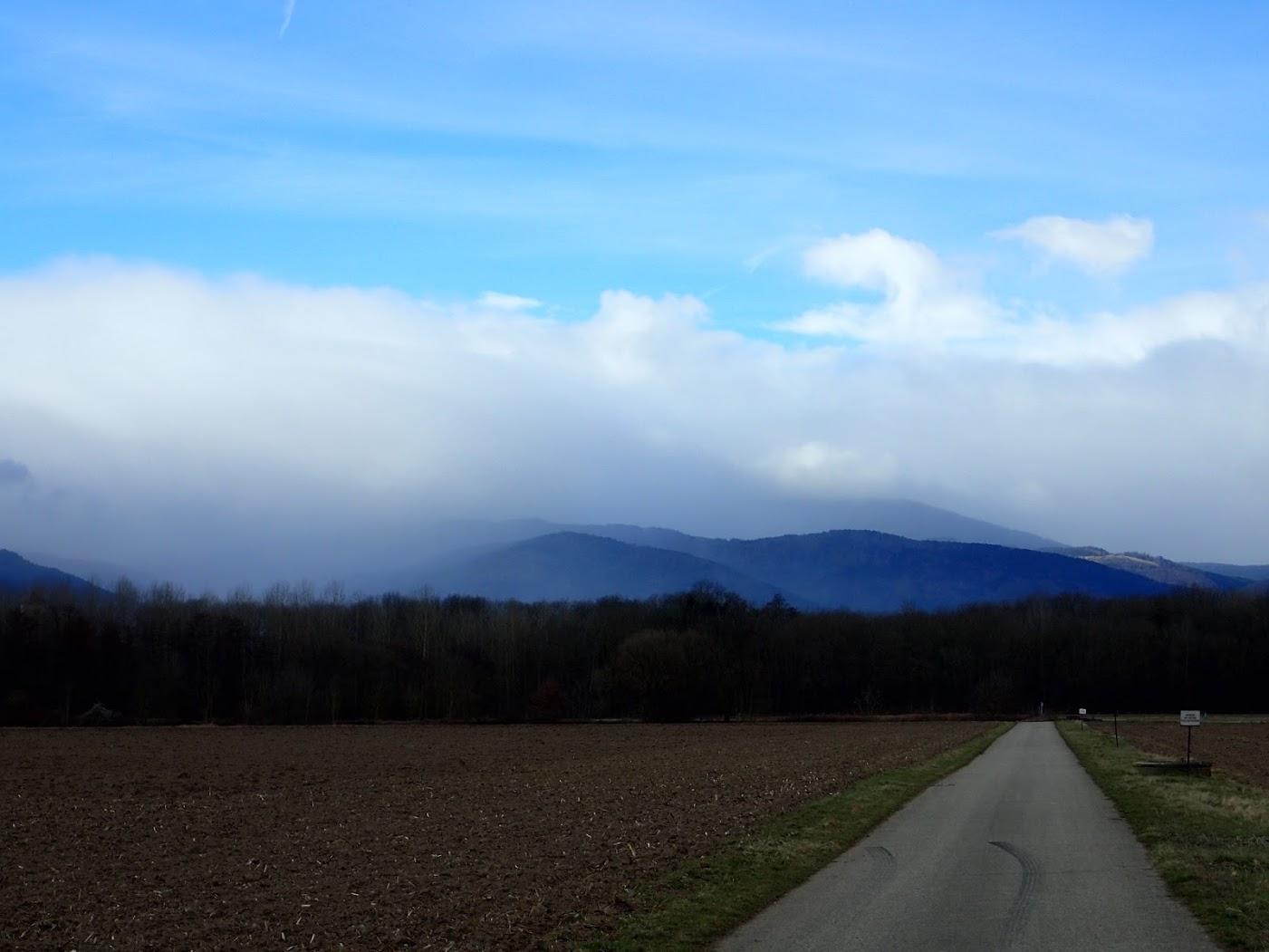 Les Vosges, grain sur le massif