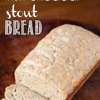 Irish Cheddar Stout Bread.