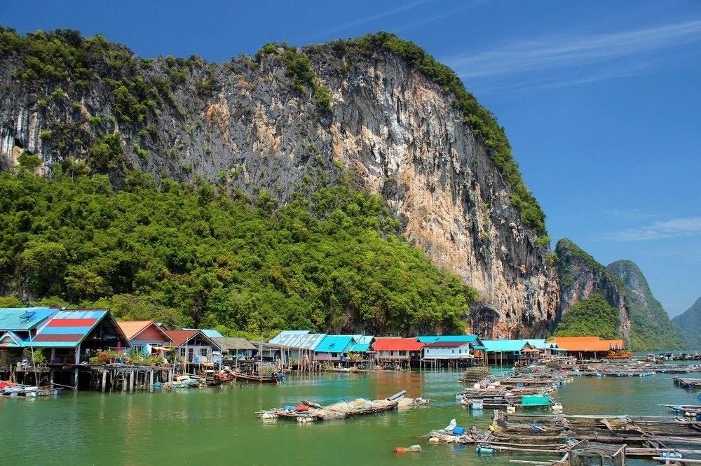 Ko Panyi, aldeia flutuante da Tailândia