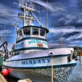 Delma Ann by Christy Sawyer - Transportation Boats