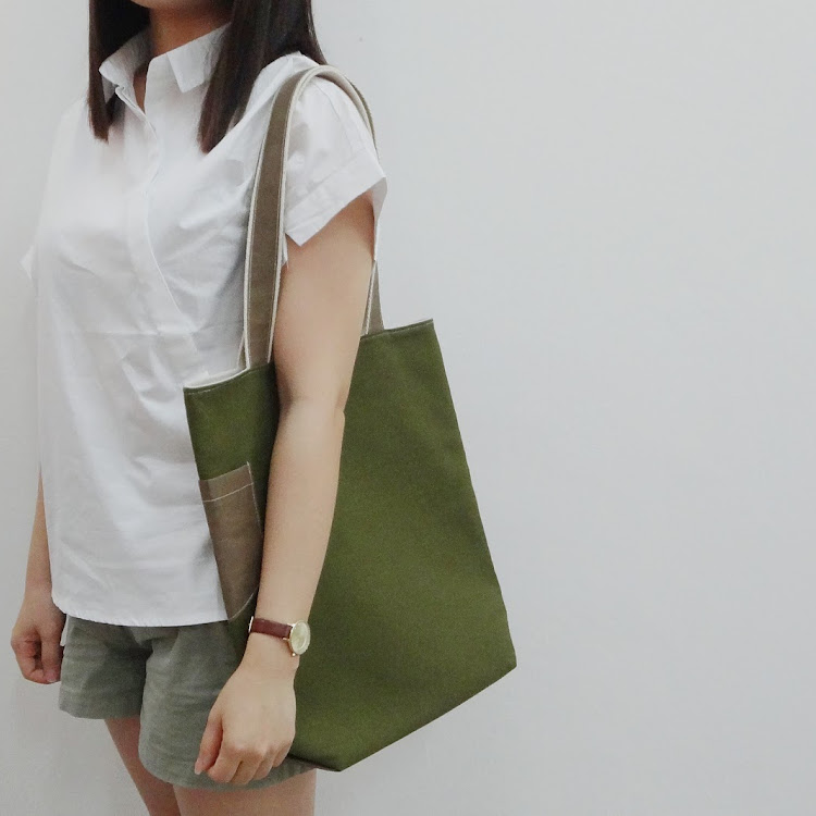 =Canvas x Paper= Tote Bag
