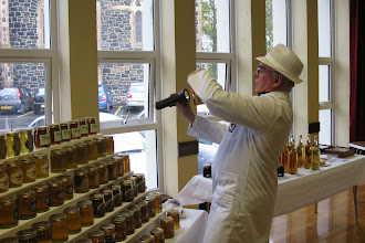 Photo: Billy Douglas Honey Judge having a birds eye view.