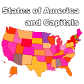 Quiz: States (US) and Capitals icon