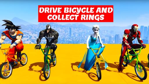 Superhero Bmx Racing Simulator game 1.2 screenshots 6