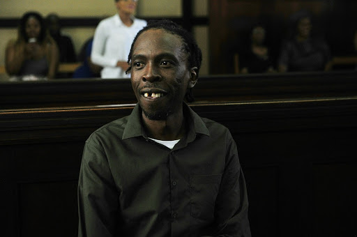 Hip-hop artist Thulani Modisane, known as Pitch Black Afro, was thinking of throwing a concert while behind bars.