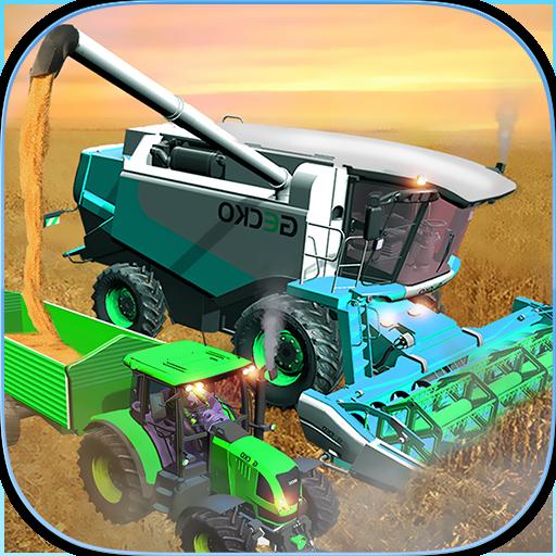 Farming Simulator 2018: Real Combine Harvester 3d