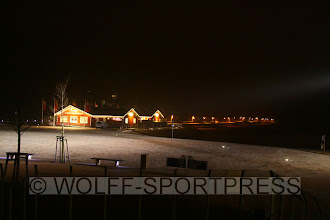 Photo: Sankt Peter Ording bei Nacht