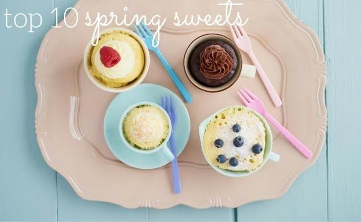 Top 10 Spring Sweets