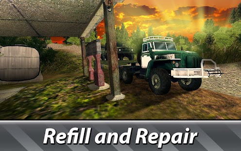Cargo Trucks Offroad Driving - náhled