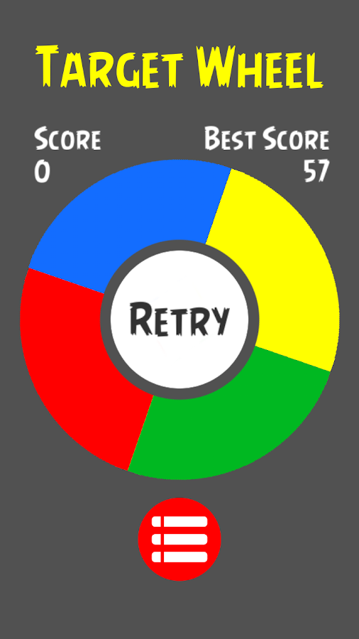 Target Wheel Brain Game- screenshot