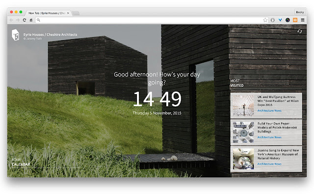 ArchDaily New Tab