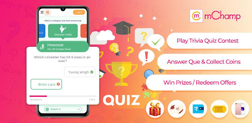 mChamp: Online Trivia & Brain Games to Win Prizes - Apps on