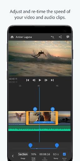 Adobe Premiere Rush u2014 Video Editor 1.5.19.3417 screenshots 1