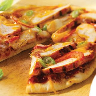Grilled Chicken Mini Pizzas
