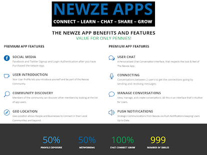 Newze - Magazine Content News- screenshot thumbnail