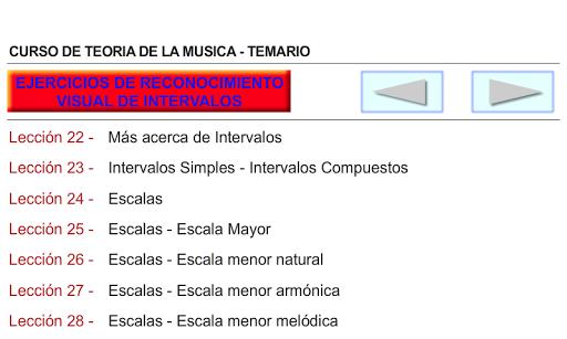 CURSO DE TEORIA DE LA MUSICA 1.0.19 screenshots 5
