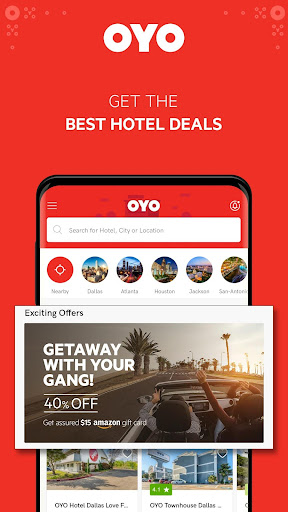 OYO - Find The Best Hotel Deals Near You screenshot 1