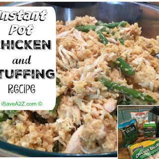 Instant Pot Chicken and Stuffing