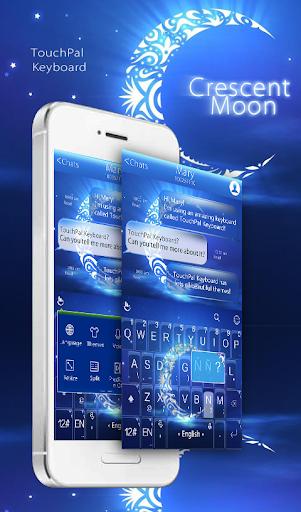 Crescent Moon Keyboard Theme
