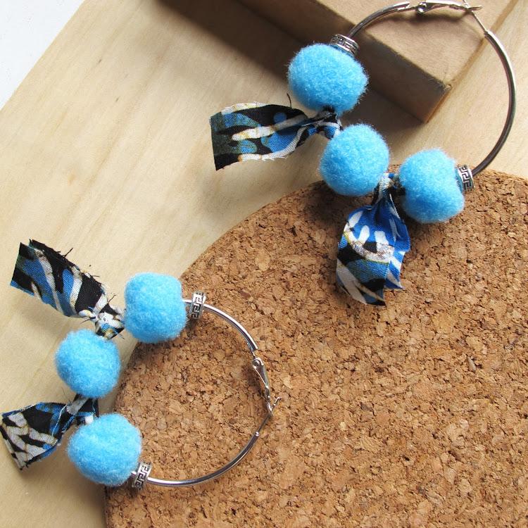 Boho Hoop Earrings #Maya