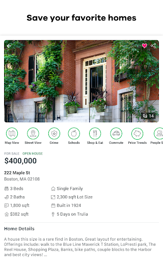 Trulia Real Estate: Search Homes For Sale & Rent 10.4.1 screenshots 18