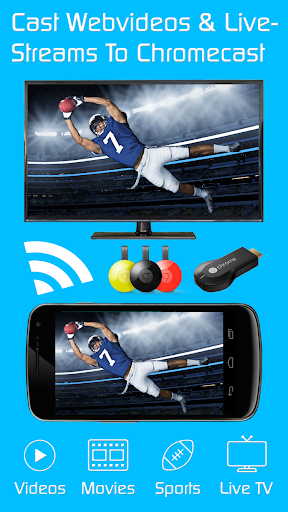 Video & TV Cast | Chromecast 2.22 screenshots 1