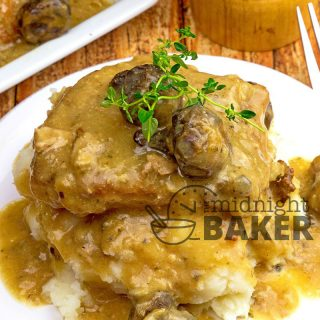 Slow Cooker Smothered Pork Chops.