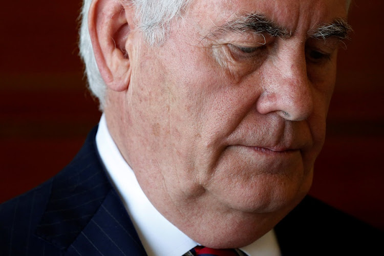 US Secretary of State Rex Tillerson. Picture: REUTERS/JONATHAN ERNST