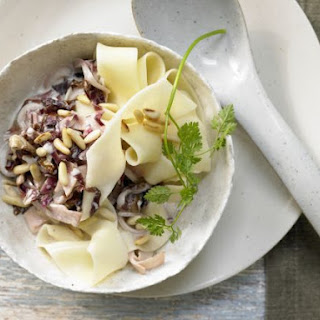 Pappardelle with Radicchio