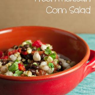 Fresh Mexican Corn Salad